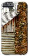 Pioneer Log Cabin Chimney IPhone Case by Kathy  White