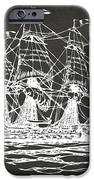 Pirate Ship Artwork - Gray IPhone 6s Case by Nikki Marie Smith