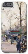 Place De La Bastille Paris IPhone Case by Eugene Galien-Laloue