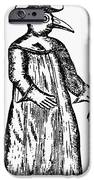 Plague Costume, 1720 IPhone Case by Granger