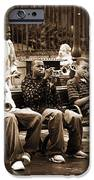 Playing Jazz In New Orleans IPhone Case by John Rizzuto