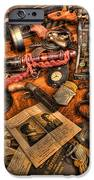 Police Officer - The Detective's Desk  IPhone Case by Lee Dos Santos