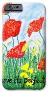 Poppies IPhone Case by Catherine Saldana