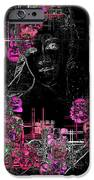 Portrait In Black - S01-02b IPhone Case by Variance Collections