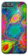 Psychedelic Colors IPhone Case by Anastasiya Malakhova
