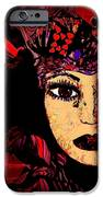 Queen Of Hearts IPhone Case by Natalie Holland