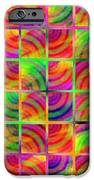 Rainbow Bliss 3 - Over The Rainbow V IPhone Case by Andee Design