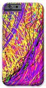 Rainbow Divine Fire Light IPhone Case by Daina White