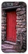 Red Grist Mill Door IPhone Case by Edward Fielding