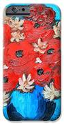 Red Poppies And White Daisies IPhone Case by Ramona Matei