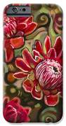 Red Proteas IPhone Case by Jen Norton