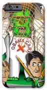 Republicans Net Frankenstein Monster IPhone Case by Dan Youra