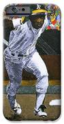 Rickey Henderson IPhone Case by Mike Rabe