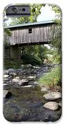 River Gorge Covered Bridge IPhone Case by Jim  Wallace