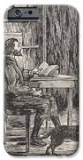 Robinson Crusoe In His Cave IPhone Case by English School