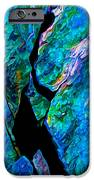 Rock Art 17 In Aqua IPhone Case by Bill Caldwell -        ABeautifulSky Photography