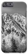 Rocky Mountain Autumn High In Black And White IPhone Case by James BO  Insogna