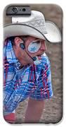 Rodeo Clown Cowboy In Dust IPhone Case by Valerie Garner