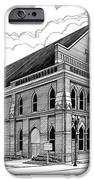 Ryman Auditorium In Nashville Tn IPhone Case by Janet King
