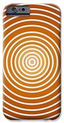 Saffron Colored Abstract Circles IPhone 6s Case by Frank Tschakert