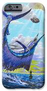Sailfish Football Off0030 IPhone Case by Carey Chen