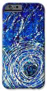 Salt Of The Soul - Drip Painting Art By Commission IPhone Case by Sharon Cummings