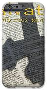 Salvation By His Cross Isaiah IPhone Case by Robyn Stacey