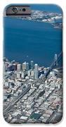 San Francisco Bay Bridge Aerial Photograph IPhone Case by John Daly