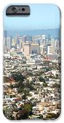 San Francisco City Vista IPhone Case by Artist and Photographer Laura Wrede