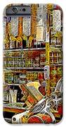 San Francisco North Beach Deli 20130505v2 Square IPhone Case by Wingsdomain Art and Photography