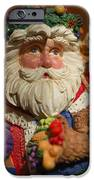 Santa Claus - Antique Ornament - 20 IPhone Case by Jill Reger