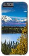 Scenic View Of Mt. Sanford L And Mt IPhone Case by Sunny Awazuhara- Reed