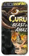 Scottish Terrier Art Canvas Print - Curucu Movie Poster IPhone Case by Sandra Sij