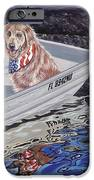 Seadog IPhone Case by Danielle  Perry