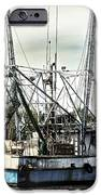 Seasoned Fishing Boat IPhone Case by Debra Forand