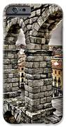 Segovia Aqueduct - Spain IPhone Case by Juergen Weiss