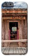 Silver Canyon Saloon IPhone Case by Cat Connor