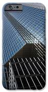 Silver Lines To The Sky - Downtown Toronto Skyscraper IPhone Case by Georgia Mizuleva