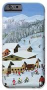 Ski Whizzz IPhone Case by Judy Joel