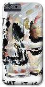 Skull Quoting Oscar Wilde.3 IPhone Case by Fabrizio Cassetta