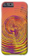Slip In Time IPhone Case by Tim Allen