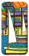 Small Boat Regatta - Cedar Key IPhone Case by Mike Segal