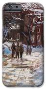 Snow In The City IPhone Case by Jack Skinner