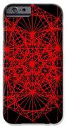 Snowflake Shape Comes From Frequency And Mass IPhone Case by Jason Padgett