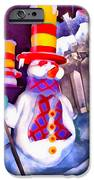 Snowman IPhone Case by George Rossidis