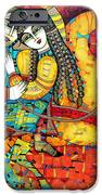 Sonata For Two And Unicorn IPhone Case by Albena Vatcheva