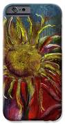 Spent Sunflower IPhone Case by David Patterson