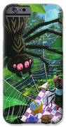 Spider Picnic IPhone Case by Martin Davey