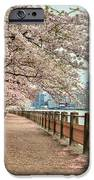 Spring Along The East River IPhone Case by JC Findley