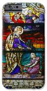 St Augustine By The Sea Shore Talking To A Child IPhone Case by Christine Till